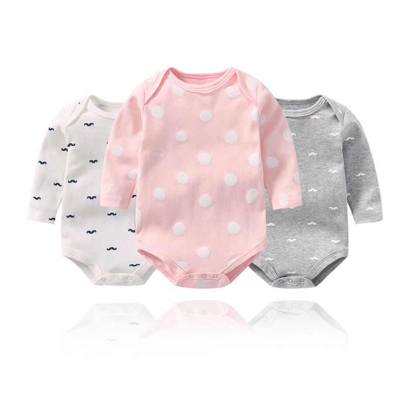 4a21ec8b8 Bebé niña Onesie bebé niña bodies de manga larga Mono para los recién  nacidos de algodón