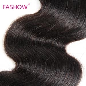 Image 5 - Brazylijski ciało fala 100% ludzkie włosy tkania 1 sztuka tylko Fashow włosów wiązki włosy inne niż Remy 10 12 14 16 18 20 22 24 26 28 cal