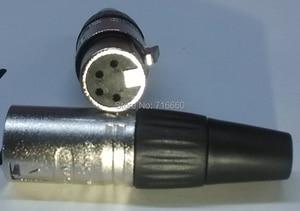 Image 3 - 送料無料4pin neutrikデザイン大砲xlrコネクタ20ピース/ロット(10ピース女性+ 10ピース男性)用熱い販売