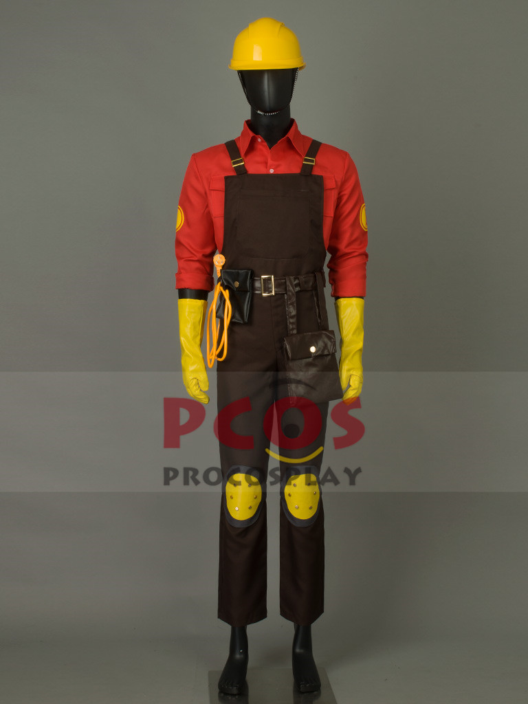 Team Fortress 2 инженер косплей костюм и шлем mp001569