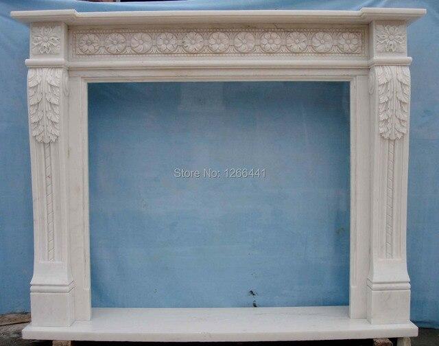 Benutzerdefinierte Geschnitzte Stein Kaminsims Wohnzimmer Marmor Kamin Rahmen Elegantes Englisch Stil