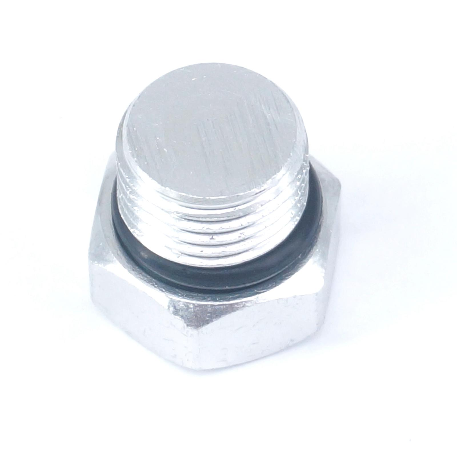 1/4 BSP Male Solid Aluminum Hex Head Plug End Cap For Pneumatic Manifold 3 8 bsp female thread brass pipe countersunk plug hex head socket pipe fittings end cap