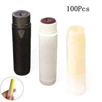 100Pcs Empty Lipstick Tube Travel Essential Oil Lotion Containers Maquiagem Lip Tube Gel Nail Polish Bottles