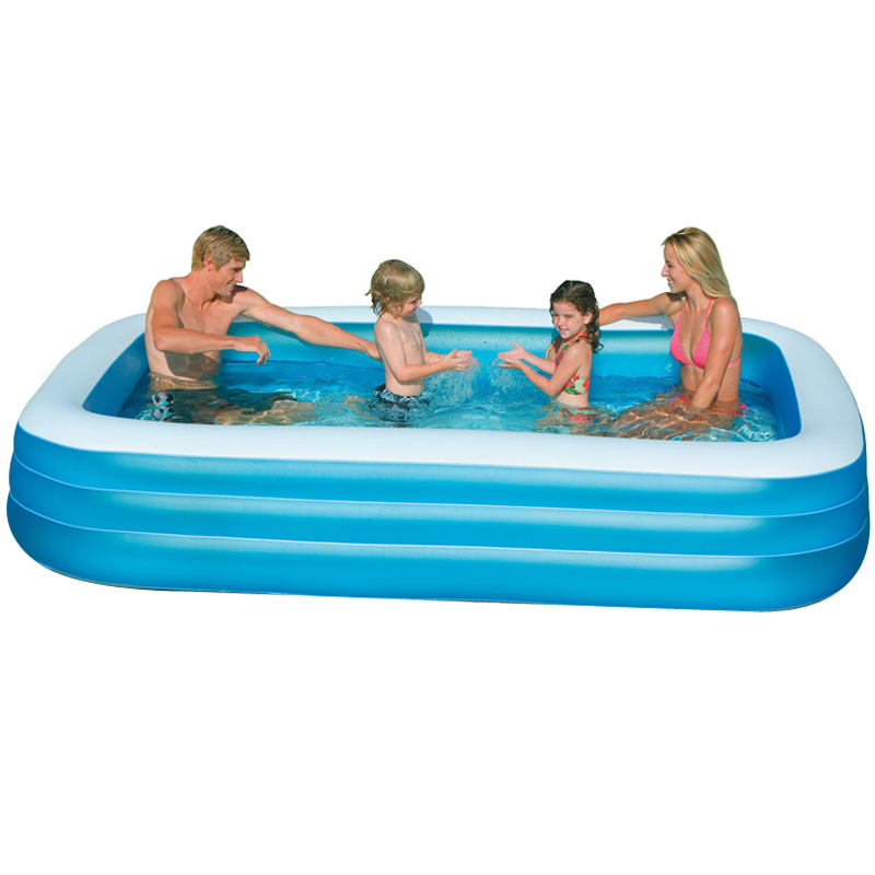 2016 Large Size Inflatable Children Family Bathtub Tub Sunscreen Swimming Water Pool Playground Piscina Bebe Zwembad A202 multi function large size outdoor inflatable swimming water pool with slide home use playground piscina bebe zwembad