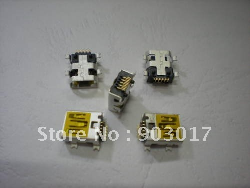 Mini USB 10 Pin Female Socket Connector 1000 pcs per lot Hot Sale