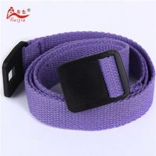 2.5cm webbing Waist Belt Candy Color Mens Womens Unisex Plain Webbing Canvas plastic  Buckle Personal Tailor