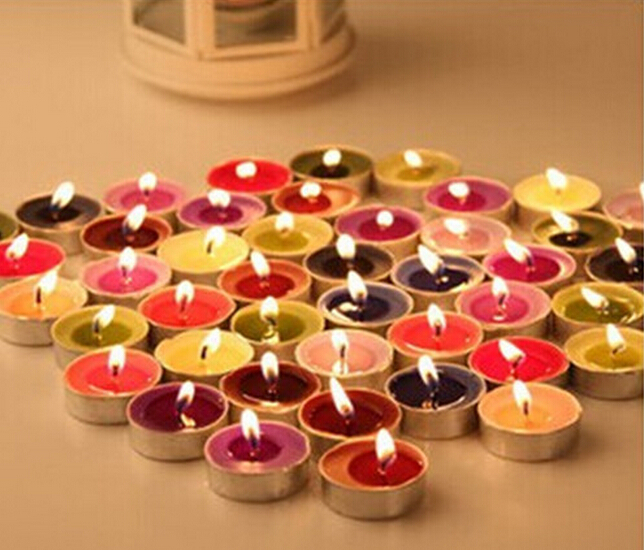 Wholesale 3 5cm Aromatherapy Tealight Wedding Party Candles Home Decor Candle Free Shipping China