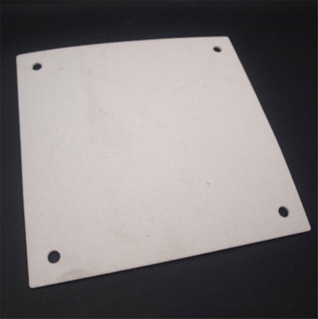 Funssor Coton D'isolation pour Creality CR-10 3D lit chauffant d'imprimante d'isolation coton chaud garder coton avec des trous 3mm