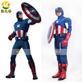 Movie The Avengers 1 Cosplay Clothing Age of Ultron Captain America Cosplay Costumes for Women Men Halloween Party Apperal 2017