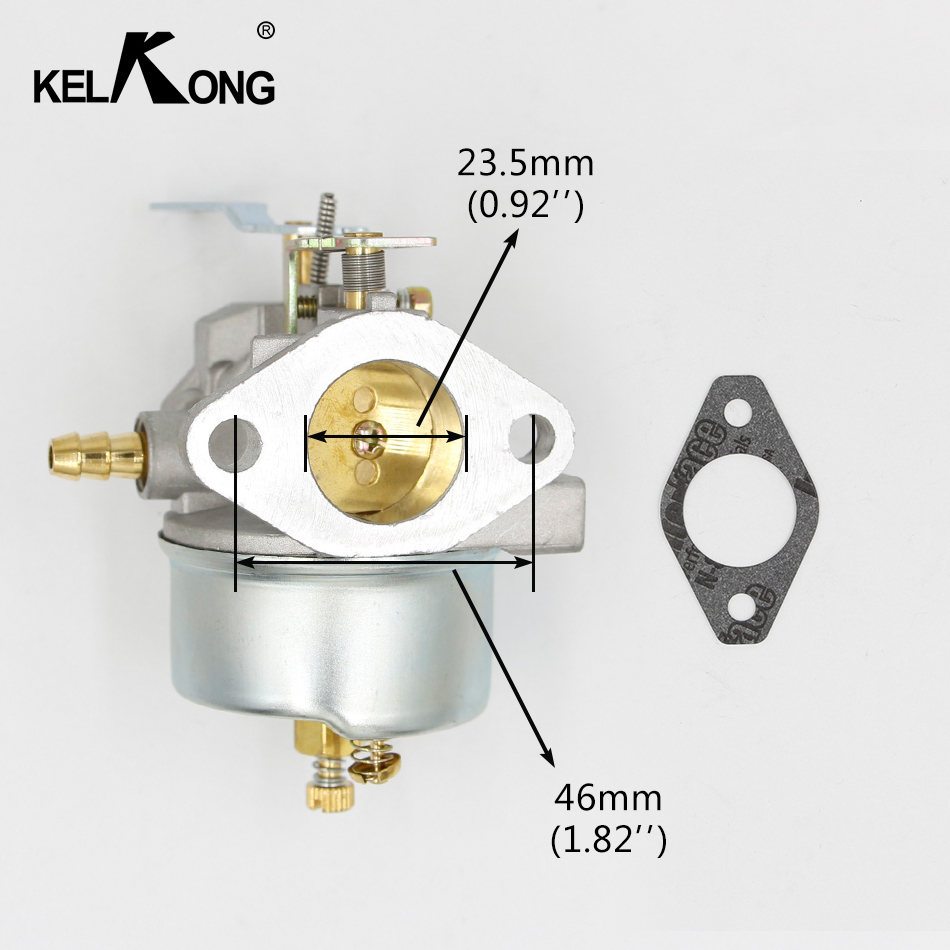 The Cheapest Price Kelkong Brand New Carburetor For Tecumseh 632370a 632370 632110 Carb Lawnmower Blowers Hm100 Hmsk100 Hmsk90 Chainsaw