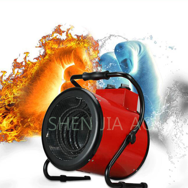 Household thermostat industrial Electric Heater Warm Air Blower Fan heater Steam air Heater Electric Warmer For Office Home use