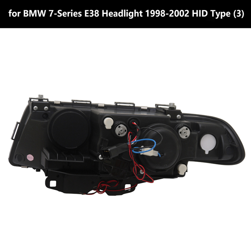for BMW 7-Series E38 Headlight 1998-2002 HID Type (3)