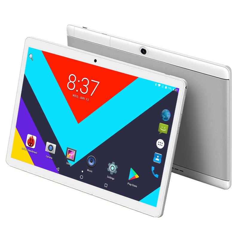 グローバルバージョンのタブレット PC 64 ギガバイト ROM オクタコアの Android 8.0 タブレット 4 1gb の ram 1280 × 800 デュアル SIM カード WiFi Bluetooth タブレット 10.1