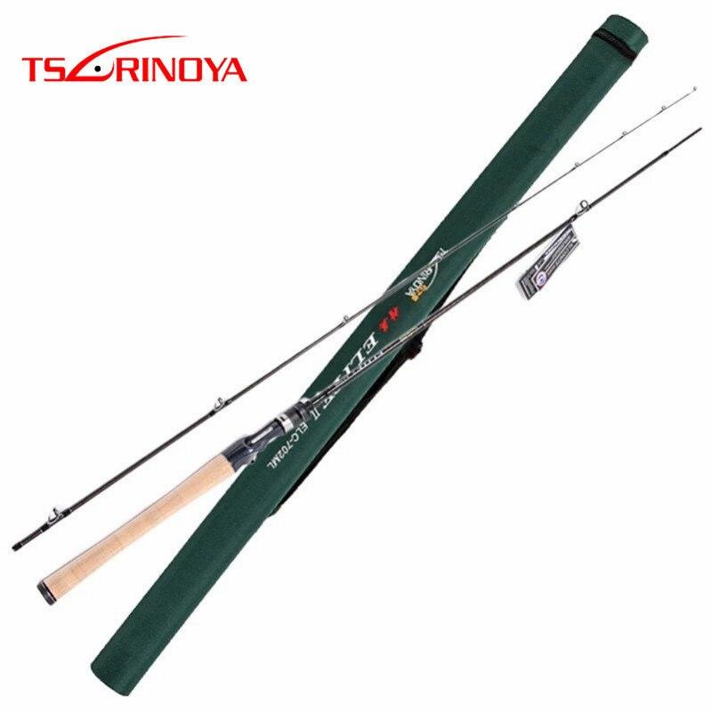 Tsurinoya 2,13 m Spinning Angelrute M Power Hohe Carbon Fibre Und FUJI Zubehör 2 Abschnitt Tackle Canne EINE Peche angelrute