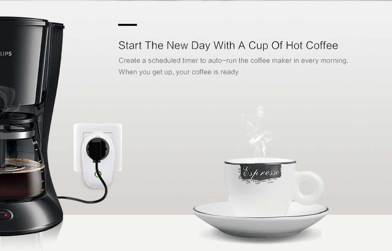 Nowy Sonoff S26 IFTTT WIFI inteligentne gniazdo zasilania bezprzewodowy pilot zdalnego Timer włączania i wyłączania US/UK/CN/ AU/ue wtyczka dla Google Home Amazon Echo