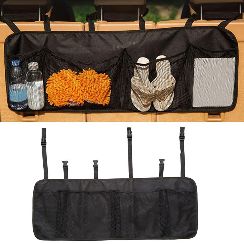 CARPRIE Car Auto Back Seat Storage Bag Cargo Grocery Hoder Bag Organizer Mesh car seat cover organizer For Storage         Dec14