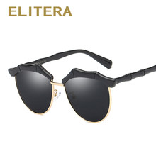 031c360e5d358 UV400 ELITERA Crianças Meninas Óculos de Sol Óculos Polarizados Quadro Bebê Óculos  Criança Bonito Óculos de Sol Da Lente do Espe.