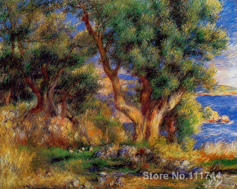 Popular renoir landscape paintings buy cheap renoir for Paintings by renoir