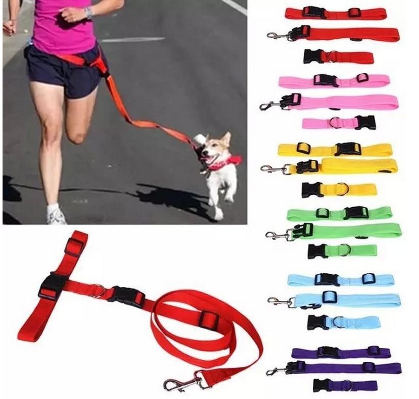 Diseña nuevamente 2015 Running Dog led Productos Para Mascotas Cable de Tracción