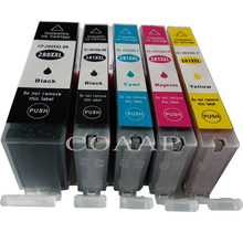5 PCS New Compatible PGI 280XL CLI 281XL ink cartridge for canon 280 281 Pixma TS6120 TS8120 TS9120 inkjet Printer