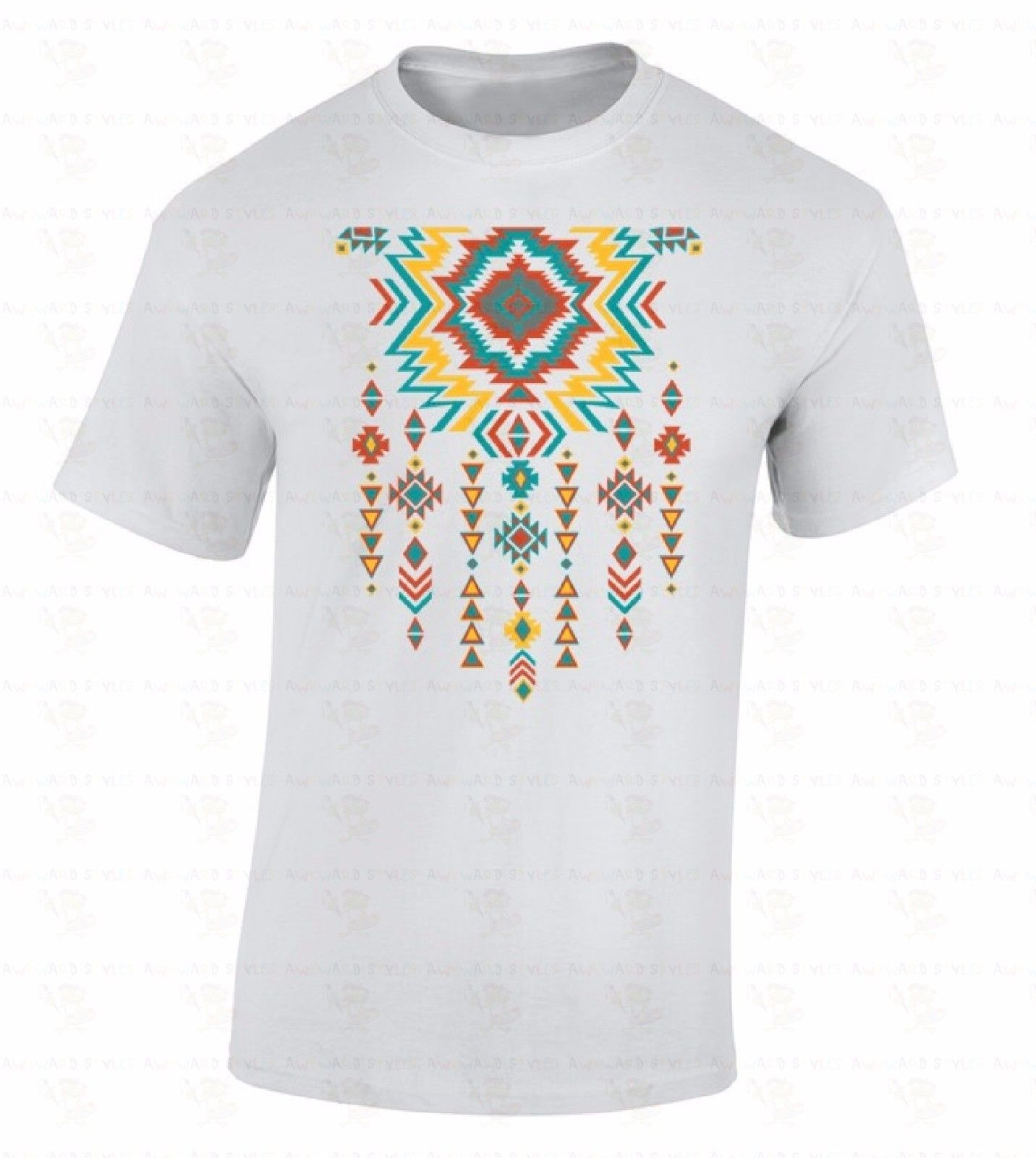 Southwest Necklace Pattern T-SHIRT Native American Indian Graphic SW Gift Shirt Newest 2018 Men T-Shirt Fashion top tee