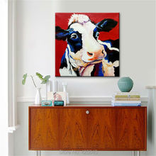 Cow Oil painting On Canvas Wall Pictures Paintings For Living Room Wall Art Canvas plattle knife modern abstract hand painted 5