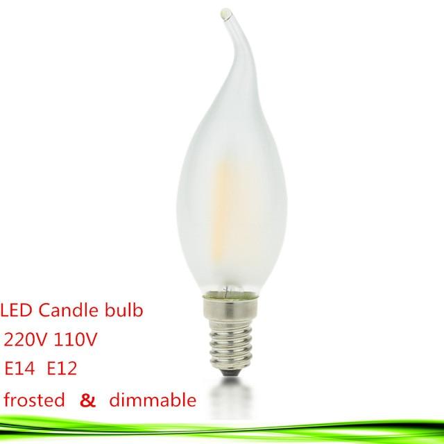 Led e14 e12 bulb 110v 220v 2w 4w 6w led candle lamp dimmable led led e14 e12 bulb 110v 220v 2w 4w 6w led candle lamp dimmable led bulb filament aloadofball Image collections