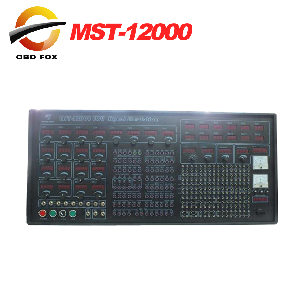 2017 New Arrivals MST-12000 Universal Automotive Test Platform and ECU Signal Simulation MST-12000 Electronic Bench