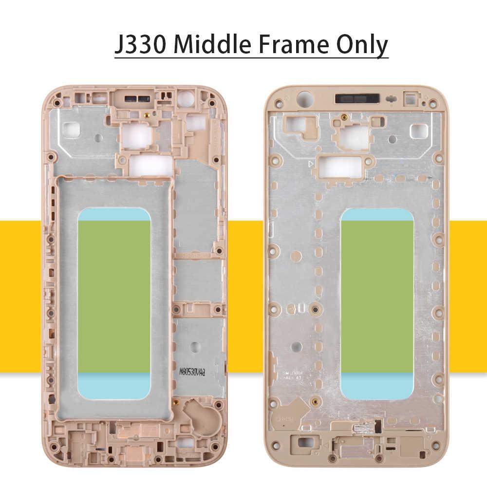IPS J330FN LCD J330F شاشات LCD لسامسونج غالاكسي J3 برو 2017 عرض الزجاج J330 اللمس محول الأرقام لسامسونج J3 برو LCD الإطار شاشة