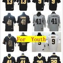 f7903bbeb 2018 Youth New Orleans Alvin Kamara Drew Brees Michael Thomas Vapor  Untouchable Limited Jersey Shirts(