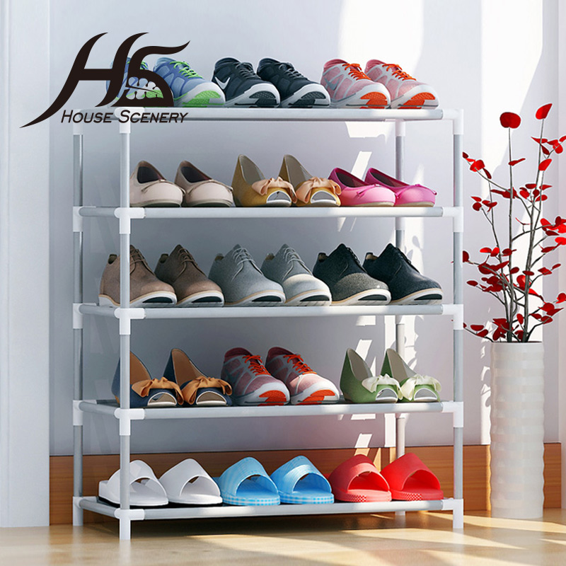 Online buy wholesale shoe rack from china shoe rack for Portable living room furniture