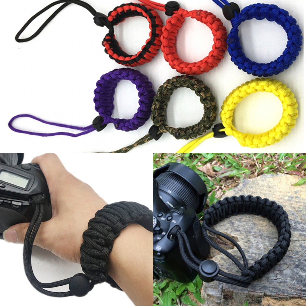 Nylon Adjustable Camera Wrist Strap Strong Camera...