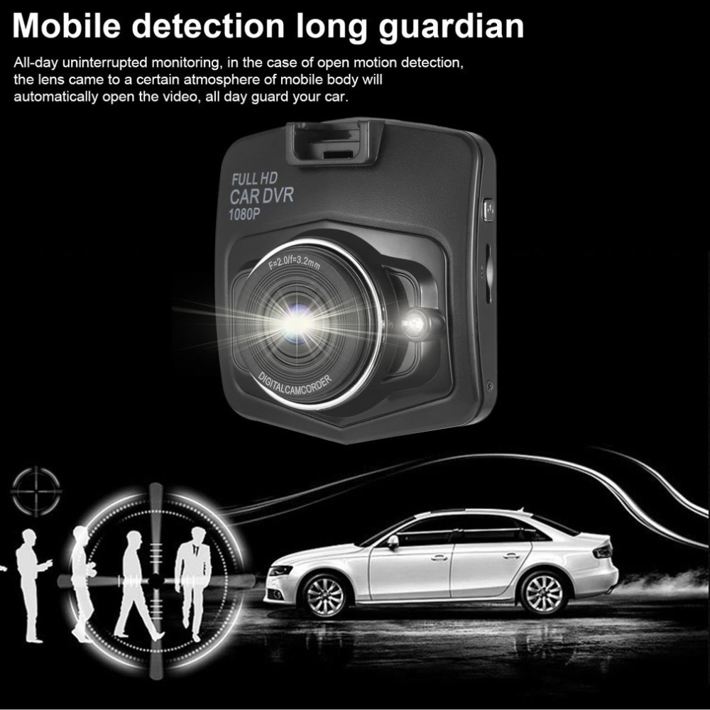 Neue 2,4 zoll LCD Full HD Windschutzscheibe/Armaturenbrett Auto DVR 1080 P Digital Camcorder Fahrzeug Blackbox DVR 170 Grad Betrachtungswinkel Tragbare
