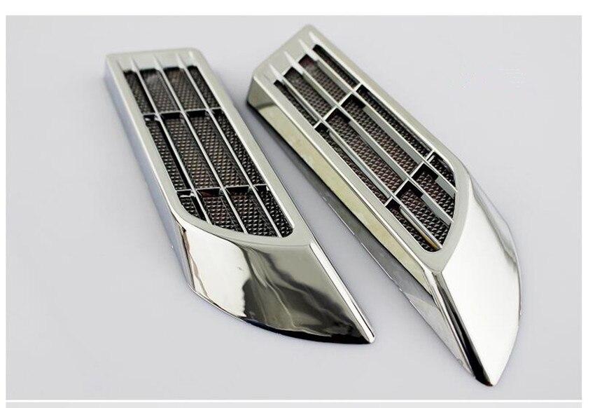 2X PT Cruiser Chrysler Black Stainless Steel License Plate Frame Rust Free