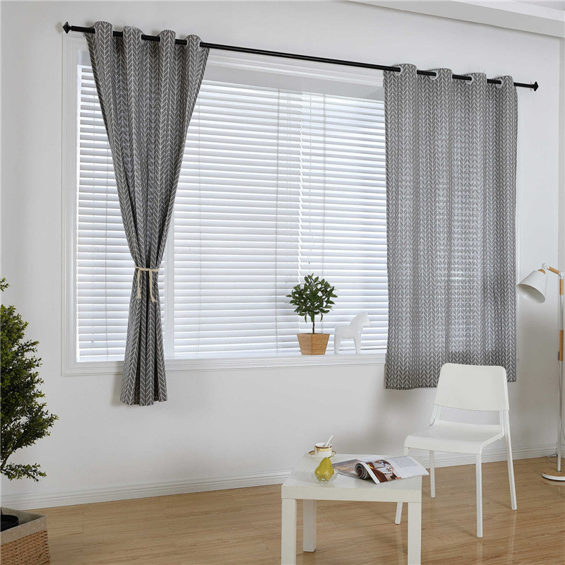 Simple American Country Curtains for Living Room Children Bedroom Decorations Window Curtain Kitchen Treatments Divider Sheer