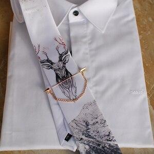 Image 4 - Freies Verschiffen Neue mode männlichen männer casual Original handgemachte hochzeit party geburtstag einzigartige krawatte gedruckt krawatte host Westlichen