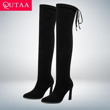 Over the knee γυναικείες μπότες