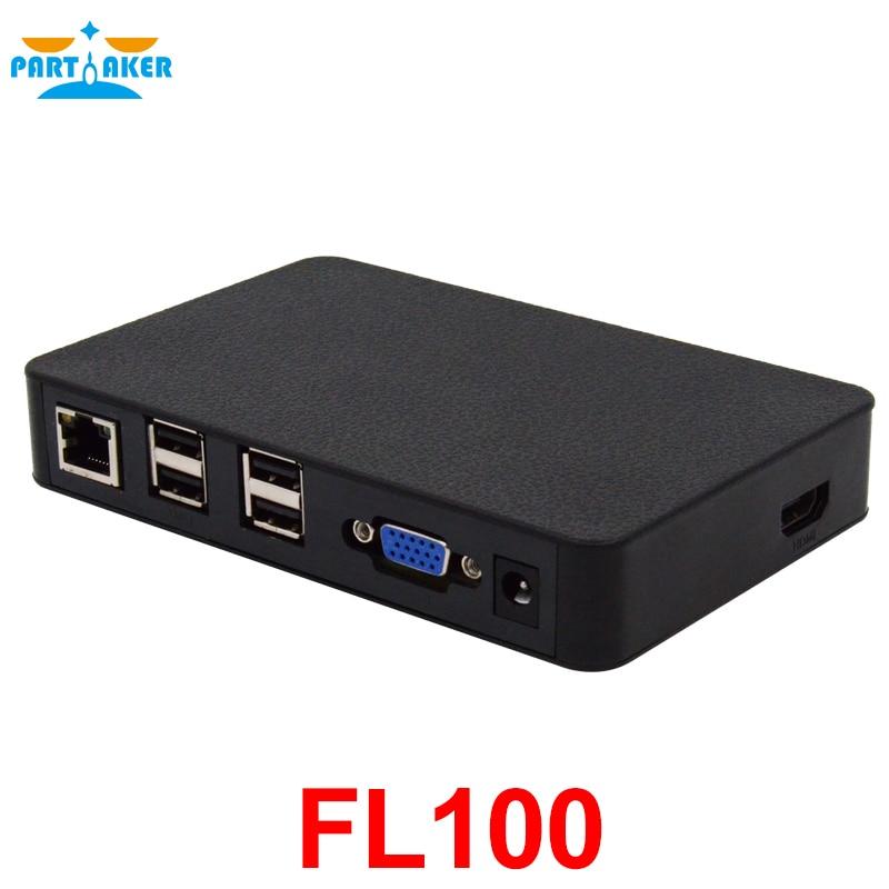 Partaker All Winner A20 512MB RAM Linux FL100  Thin Client Network Terminal Cloud Computer Mini PC Station