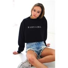 woman hoodies sweatshirts ladies autumn winter new clothing sweat babygirl festivals classics fashion  shirts