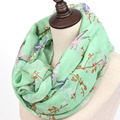 from india shawls and scarves New 2016 Fashion Soft Thin Scarf Women Animal Bird printed Scarves Foulard Sjaal Cachecol Feminino