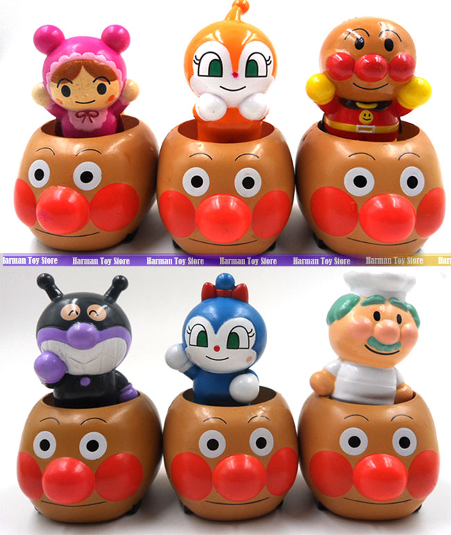 Toys For Boys 4 5 : Cm set lot pvc japanese anime figure anpanman action