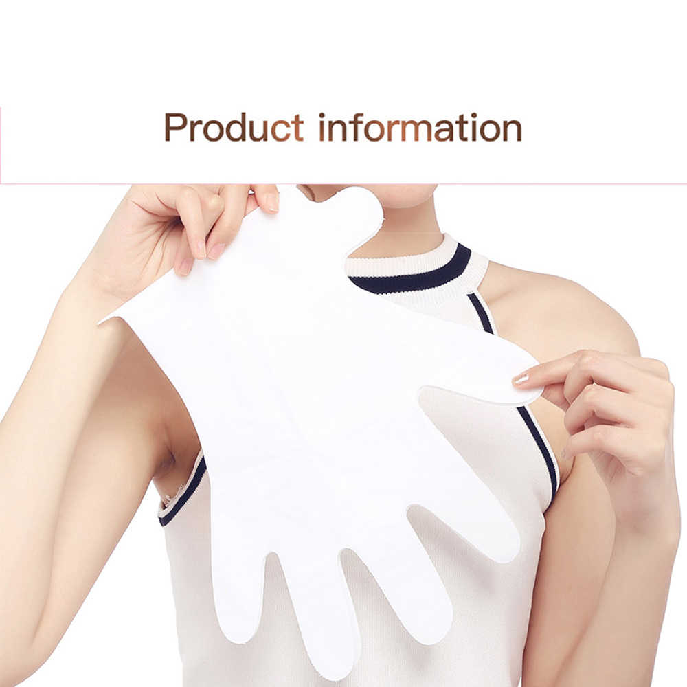 Snail Extract Moisturizing Hand Mask Super Smoothing Whitening Hand Gloves Anti-Aging and Moisturizing Glove Treatment