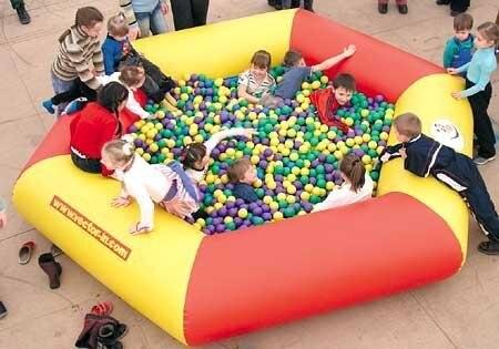 Высококачественный ПВХ надувной бассейн для детей, развлекательный надувной бассейн