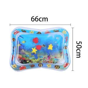 Image 4 - תינוק ילדים מים לשחק מחצלת מתנפח תינוקות בטן זמן Playmat צעצועים לילדים קיץ שחייה חוף בריכת משחק מגניב שטיח צעצוע