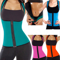 3XL Waist Training Corset Sweat Enhancing Thermal Sexy Vest Neoprene Waist Cincher Waist Trainer Hot Shaper