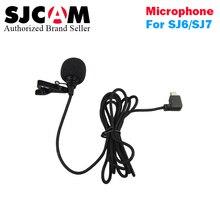 2017new Original SJCAM Accessories External Microphone MIC for SJCAM SJ6 LEGEND /SJ7 Star /SJ360 Sports Camera