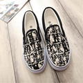 female loafers graffiti women footwear hand-painted canvas shoes soft slip on flats chaussure femme girls casual shoes XK072117