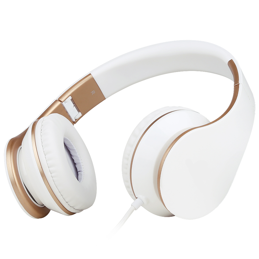 Original Brand Big Headphones 3.5mm Headband Earphones with Mic For iPhone Samsung Xiaomi Phones Stereo Headset For PC Tablets kz headset storage box suitable for original headphones as gift to the customer