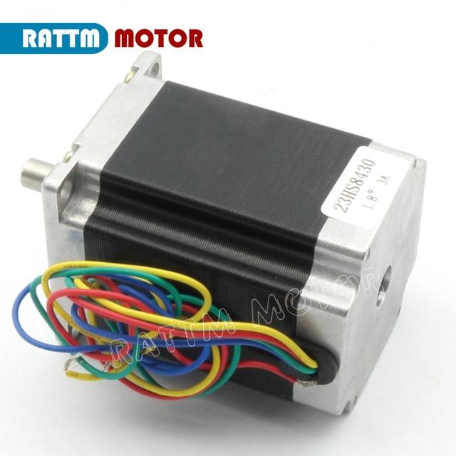 EU free VAT 3 Axis CNC controller kit 3 NEMA23 270 oz-in stepper motor& motor driver 256 microstep 4.5A & 350W 36V power supply