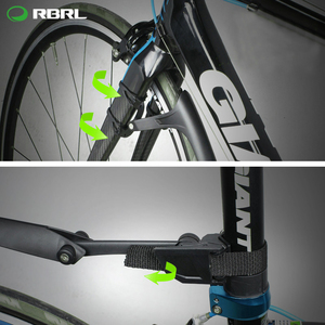 Image 3 - RBRL 2 PCS Road Bike Set Mudguard For Bicycle 700c Bike Wings Mud Guard Front/Rear Fenders RL 770